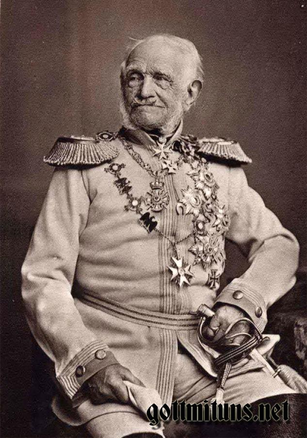 Graf von Wrangel in 1875