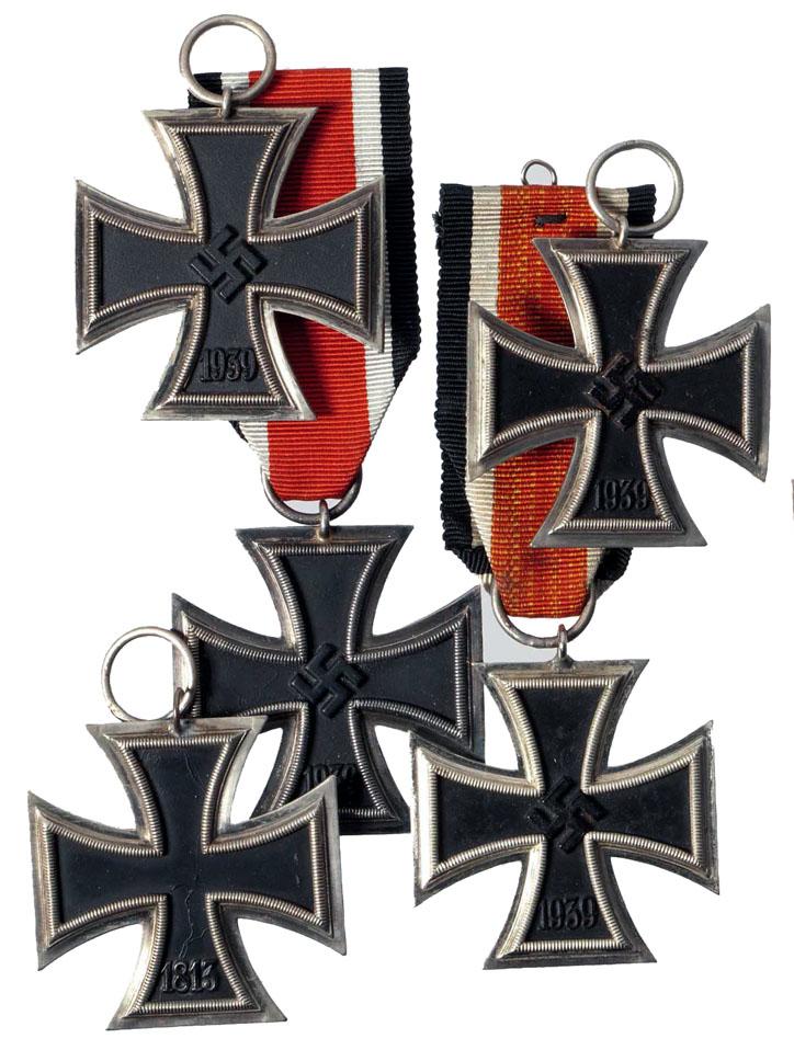 Iron Cross 2nd Class Award Citations 1941 1943 Ss Panzergrenadier