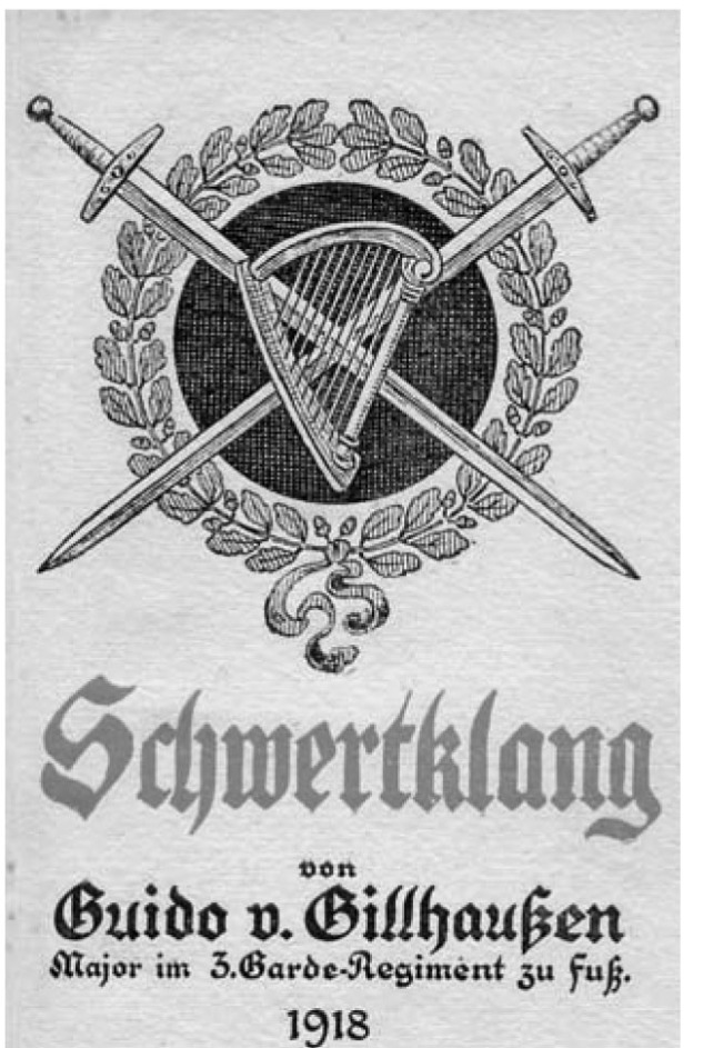 """Clash of Swords"" - Book containing Gillhaußens Poems and Songs, 1918"