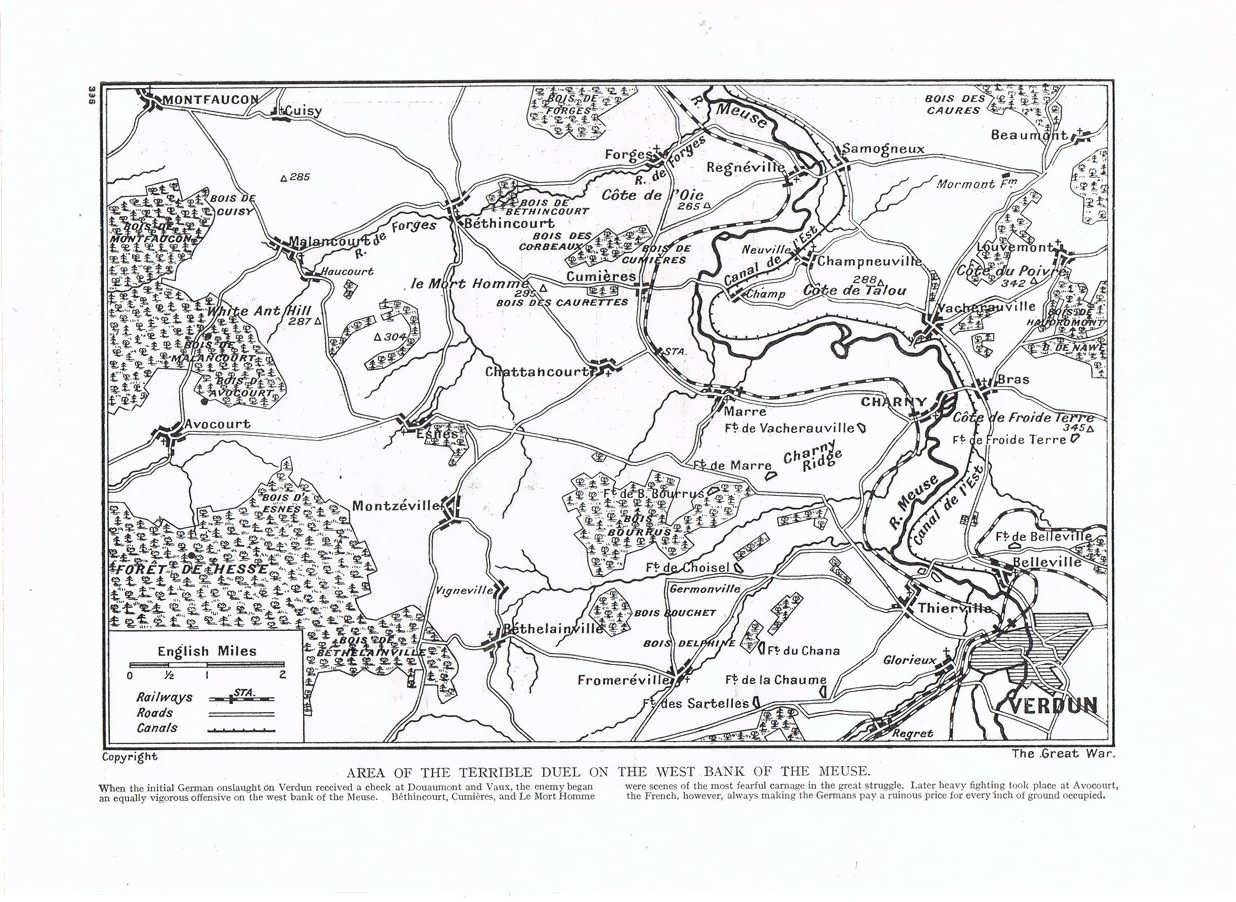 The Battle Of Verdun Was Designed To Bleed France White It Did And Germany