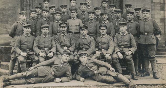 Men of IR119 in Summer 1915