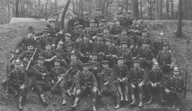 Soldiers of IR119 in May 1915.