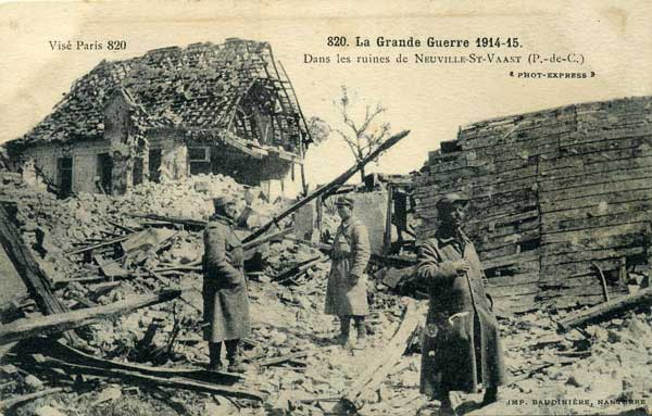 Neuville St. Vaast in World War 1