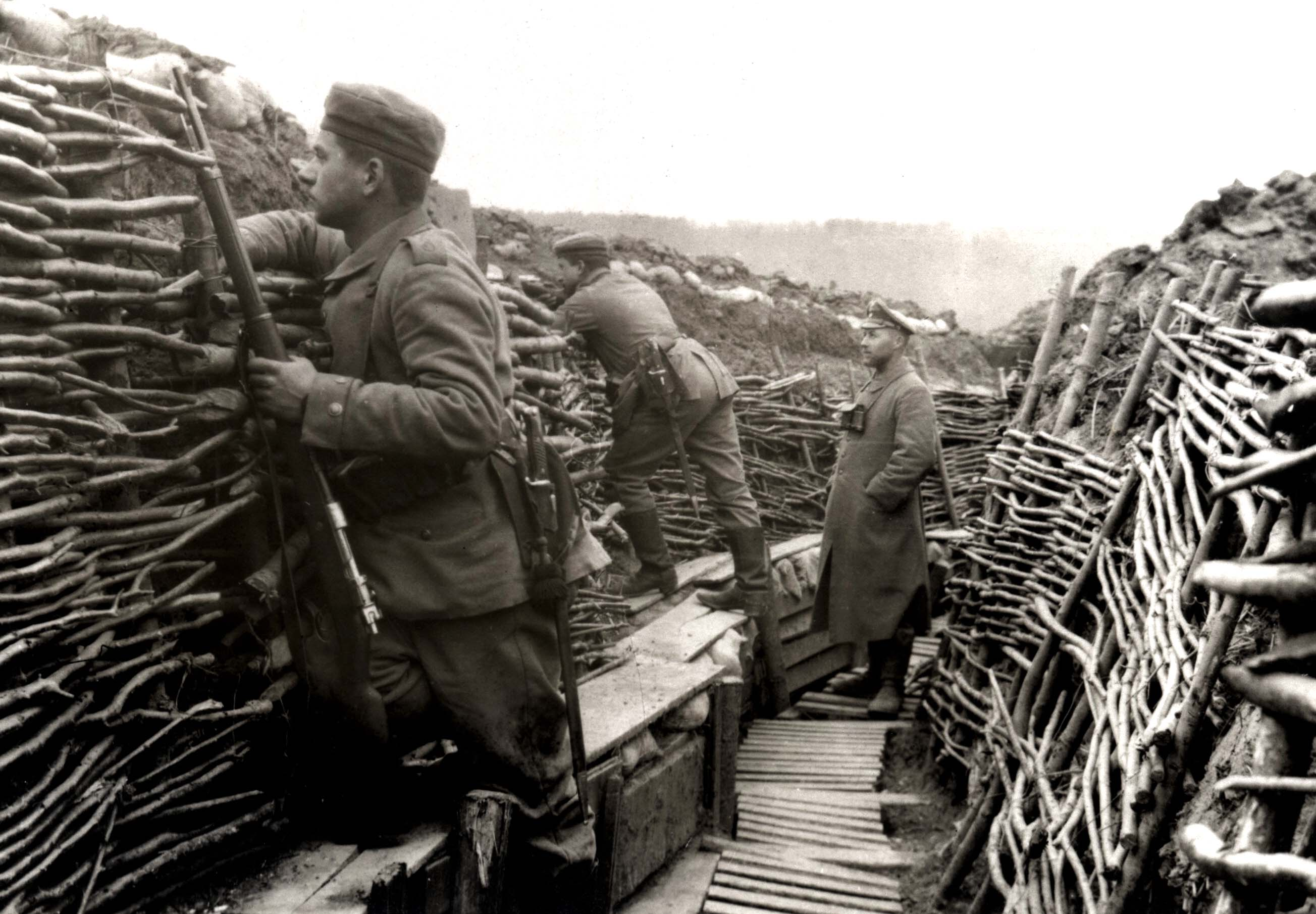 the life in trenches a history of world war one World war one: life in the trenches jump to media player in the first in a series of special reports, bbc wales visits a reconstructed trench to find out what welsh.