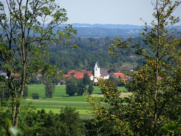 The village of Willing, Bavaria