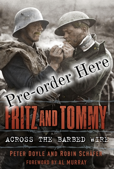Pre-Order Fritz and Tommy - Across the Barbed Wire - Peter Doyle & Robin Schäfer